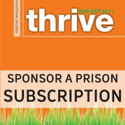 Thrive Sponsor a Prison Subcription