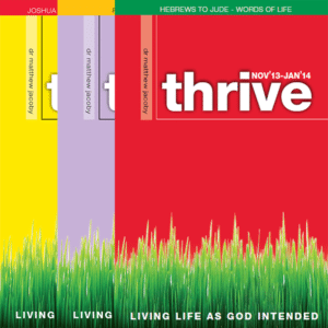 Thrive Back Issues